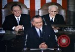 Image of President Johnson address to Congress on Voting Rights Washington DC USA, 1965, second 16 stock footage video 65675070904