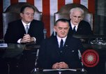 Image of President Johnson address to Congress on Voting Rights Washington DC USA, 1965, second 21 stock footage video 65675070904