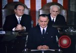 Image of President Johnson address to Congress on Voting Rights Washington DC USA, 1965, second 23 stock footage video 65675070904