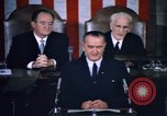 Image of President Johnson address to Congress on Voting Rights Washington DC USA, 1965, second 26 stock footage video 65675070904