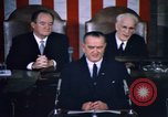 Image of President Johnson address to Congress on Voting Rights Washington DC USA, 1965, second 27 stock footage video 65675070904