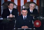 Image of President Johnson address to Congress on Voting Rights Washington DC USA, 1965, second 29 stock footage video 65675070904