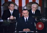 Image of President Johnson address to Congress on Voting Rights Washington DC USA, 1965, second 31 stock footage video 65675070904