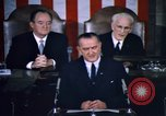 Image of President Johnson address to Congress on Voting Rights Washington DC USA, 1965, second 32 stock footage video 65675070904