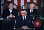 Image of President Johnson address to Congress on Voting Rights Washington DC USA, 1965, second 33 stock footage video 65675070904