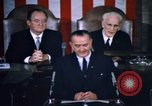 Image of President Johnson address to Congress on Voting Rights Washington DC USA, 1965, second 35 stock footage video 65675070904