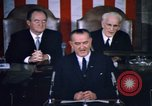 Image of President Johnson address to Congress on Voting Rights Washington DC USA, 1965, second 37 stock footage video 65675070904
