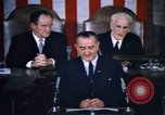 Image of President Johnson address to Congress on Voting Rights Washington DC USA, 1965, second 38 stock footage video 65675070904