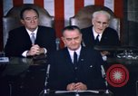Image of President Johnson address to Congress on Voting Rights Washington DC USA, 1965, second 42 stock footage video 65675070904