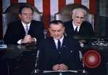 Image of President Johnson address to Congress on Voting Rights Washington DC USA, 1965, second 44 stock footage video 65675070904