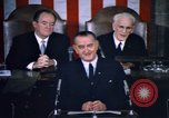 Image of President Johnson address to Congress on Voting Rights Washington DC USA, 1965, second 46 stock footage video 65675070904
