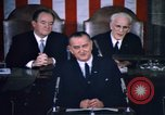 Image of President Johnson address to Congress on Voting Rights Washington DC USA, 1965, second 47 stock footage video 65675070904