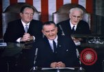 Image of President Johnson address to Congress on Voting Rights Washington DC USA, 1965, second 48 stock footage video 65675070904