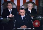 Image of President Johnson address to Congress on Voting Rights Washington DC USA, 1965, second 59 stock footage video 65675070904
