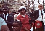 Image of faces of Martin Luther King funeral mourners Atlanta Georgia USA, 1968, second 10 stock footage video 65675070915