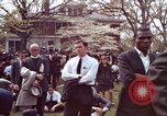 Image of faces of Martin Luther King funeral mourners Atlanta Georgia USA, 1968, second 15 stock footage video 65675070915