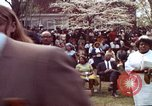 Image of faces of Martin Luther King funeral mourners Atlanta Georgia USA, 1968, second 28 stock footage video 65675070915