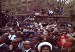 Image of faces of Martin Luther King funeral mourners Atlanta Georgia USA, 1968, second 32 stock footage video 65675070915