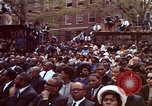 Image of faces of Martin Luther King funeral mourners Atlanta Georgia USA, 1968, second 33 stock footage video 65675070915