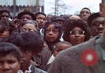 Image of faces of Martin Luther King funeral mourners Atlanta Georgia USA, 1968, second 41 stock footage video 65675070915