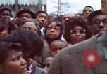 Image of faces of Martin Luther King funeral mourners Atlanta Georgia USA, 1968, second 44 stock footage video 65675070915