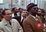 Image of faces of Martin Luther King funeral mourners Atlanta Georgia USA, 1968, second 45 stock footage video 65675070915