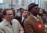 Image of faces of Martin Luther King funeral mourners Atlanta Georgia USA, 1968, second 48 stock footage video 65675070915