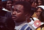 Image of faces of Martin Luther King funeral mourners Atlanta Georgia USA, 1968, second 51 stock footage video 65675070915