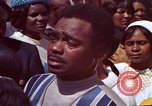 Image of faces of Martin Luther King funeral mourners Atlanta Georgia USA, 1968, second 53 stock footage video 65675070915