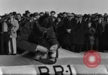 Image of rocket sled Syracuse New York USA, 1931, second 35 stock footage video 65675070926