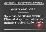 Image of beauty treatments for dogs Portland Oregon USA, 1931, second 3 stock footage video 65675070930