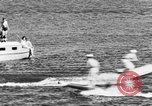Image of water-ski polo Winter Haven Florida USA, 1931, second 16 stock footage video 65675070932