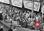 Image of costumed and native dress parade Port of Spain Trinidad, 1932, second 9 stock footage video 65675070935