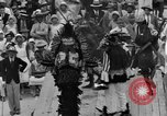 Image of costumed and native dress parade Port of Spain Trinidad, 1932, second 47 stock footage video 65675070935