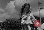 Image of costumed and native dress parade Port of Spain Trinidad, 1932, second 48 stock footage video 65675070935