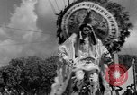 Image of costumed and native dress parade Port of Spain Trinidad, 1932, second 53 stock footage video 65675070935