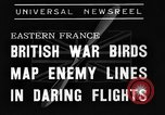 Image of British fliers Eastern France, 1939, second 4 stock footage video 65675070942