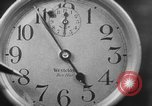 Image of spider in clock Akron Ohio USA, 1932, second 16 stock footage video 65675070961