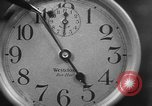 Image of spider in clock Akron Ohio USA, 1932, second 19 stock footage video 65675070961