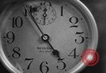 Image of spider in clock Akron Ohio USA, 1932, second 20 stock footage video 65675070961