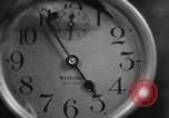 Image of spider in clock Akron Ohio USA, 1932, second 22 stock footage video 65675070961