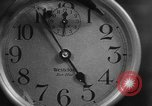 Image of spider in clock Akron Ohio USA, 1932, second 23 stock footage video 65675070961