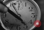 Image of spider in clock Akron Ohio USA, 1932, second 25 stock footage video 65675070961