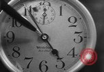 Image of spider in clock Akron Ohio USA, 1932, second 26 stock footage video 65675070961
