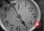 Image of spider in clock Akron Ohio USA, 1932, second 27 stock footage video 65675070961