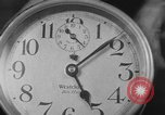 Image of spider in clock Akron Ohio USA, 1932, second 30 stock footage video 65675070961