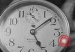 Image of spider in clock Akron Ohio USA, 1932, second 32 stock footage video 65675070961