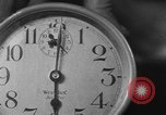 Image of spider in clock Akron Ohio USA, 1932, second 42 stock footage video 65675070961