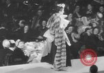 Image of fashion show New York United States USA, 1949, second 62 stock footage video 65675070979