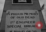 Image of anniversary of D-Day Normandy France, 1945, second 17 stock footage video 65675070993